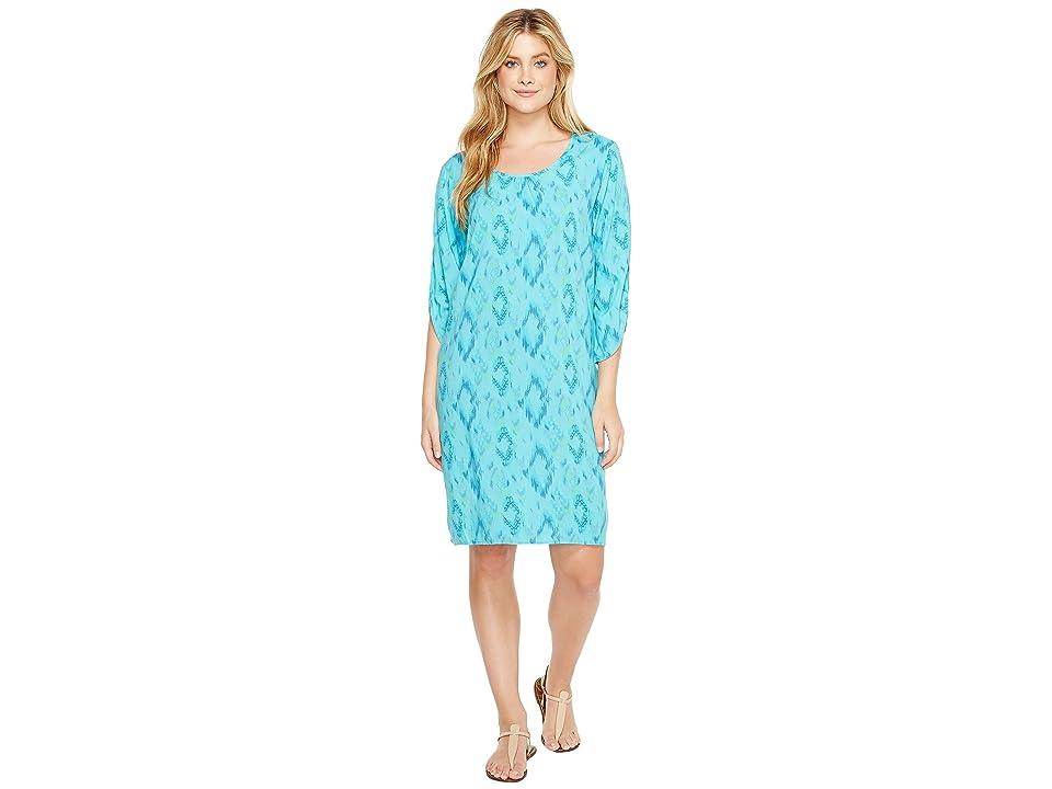Fresh Produce Sunset Sky Escape Dress (Luna Turquoise) Women