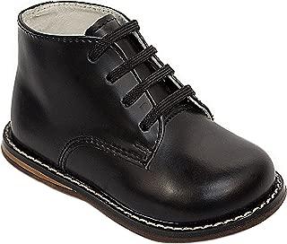 Josmo 2-8 平头徒步鞋(黑色,7.5)