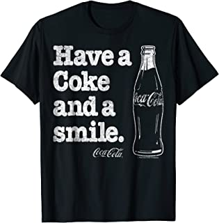 Coke And A Smile Vintage Faded Graphic T-Shirt