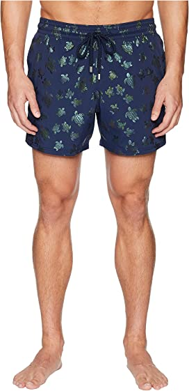 31c49399780a3 Vilebrequin Moorea Stars and Turtles Swim Trunk at Zappos.com