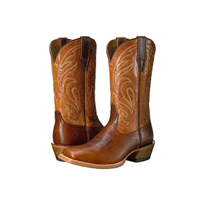 Ariat Fire Creek (Corral Cognac/Aged Honey) Cowboy Boots