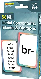 Teacher Created Resources Initial Consonants, Blends & Digraphs Flash Cards