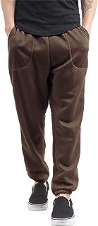Hat and Beyond Mens Fleece Sweatpants Lightweight Elastic Loss Fit Drawstring Long Pants