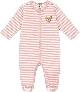 Steiff Unisex Baby Mit Süßer teddybärapplikation Strampler GOTS
