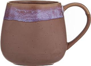 LEAF & BEAN Milan Reactive Glaze Mug Milan Reactive Glaze Mug, Pink, DLE0061PK