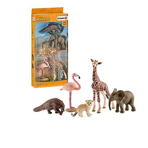 Schleich 42388 - Assorted Wild Life Animals