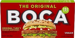 Boca Original Turk'y Vegan Frozen Veggie Burgers (4 Count)