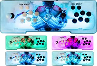 Happybuy Video Game Console, Arcade Machine 1500 Classic Games, 2 Players Pandora's box 5S multiplayer home Arcade Console 1500 Games All in 1 NON-JAMMA PCB Double Stick Newest Design Buttons Power HD