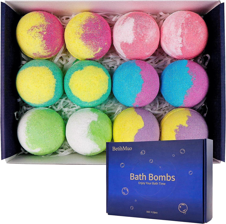 BetihMuo Bath Bombs Organic Set Spa Gift Jacksonville Mall Popular overseas Bubble