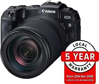 Canon RPKIT Digital Camera - Mirrorless Canon EOS RP Full Fram Mirrorless Camera with RF 24-240mm f/4-6.3 is USM Lens, Black (RPKIT)