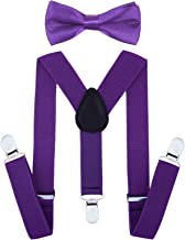 Best boys purple bow tie and suspenders Reviews