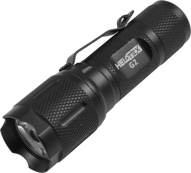 Halotex G2 CREE LED Tactical EDC Flashlight
