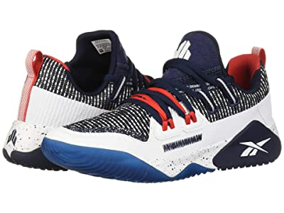 Reebok Kids JJ III (Big Kid) (Collegiate Navy/White/Primal Red) Boy
