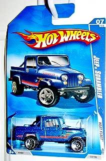 Hot Wheels 2009 Heat Fleet Blue Jeep Scrambler 1:64 Scale