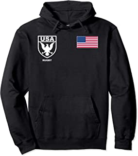 Us Usa Rugby Hoodie Jersey
