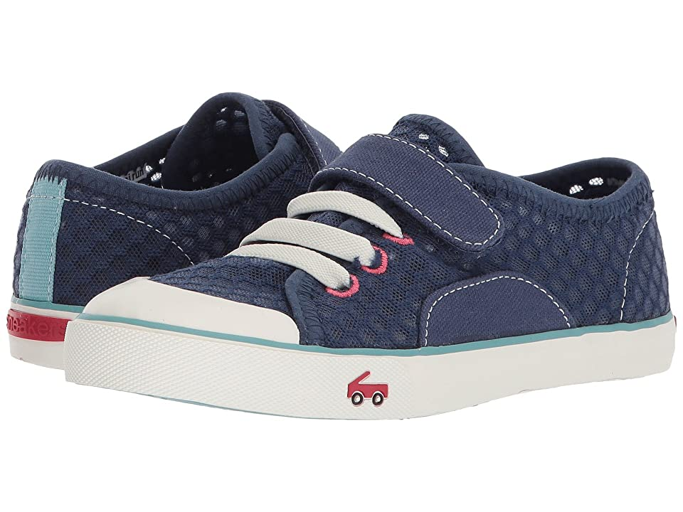 See Kai Run Kids Saylor (Little Kid/Big Kid) (Dark Blue) Girl