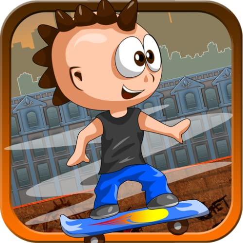 Jumpy Kiddo - The Rebel Skateboarder
