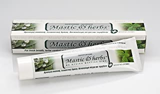 Greek Toothpaste Mastic & Herbs with Mastic & Spearmint