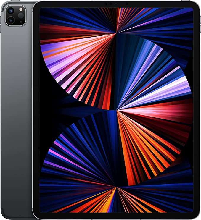 2021 Apple iPad Pro (12.9-inch, Wi-Fi + Cellular, 512GB) - Space Grey (5th Generation)