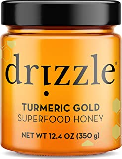 Sponsored Ad - Drizzle Turmeric Gold Raw Honey - Superfood Anti-Inflammatory Blend - Rich in Nutrients and Beneficial Enzy...