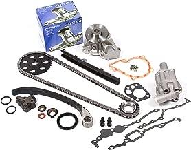 Evergreen TK3005WOPA Fits Nissan KA24E Timing Chain Kit with Oil Pump AISIN Water Pump