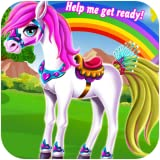 Pony cleaning pony grooming pony spa session pony dress up pony makeover game pony princess game free girl games under five girl games