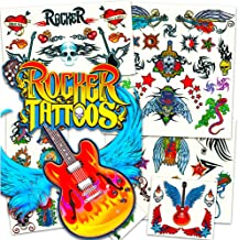 rock and roll temporary tattoos