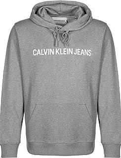 CALVIN KLEIN Jeans Men's Institutional Regual Fit Hoodie