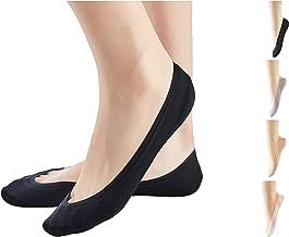 3/6/8 Pairs Ultra-Low Cut Socks Women No Show Socks Invisible Nylon Anti-slip Liner Socks for Sneakers