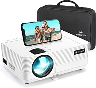 VANKYO Leisure 470 Mini Projector with Synchronize Smart Phone Screen, Full HD 1080P Supported and 250'' Display, WiFi Por...