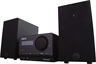 Akai Core A61039DAB Multi-Functional Stereo System with Bluetooth, DAB, CD and USB, Black