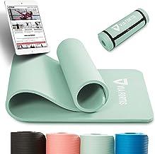 VIA FORTIS Gymnastiekmat incl. draagriem - antislip en robuust (193 x 61 x 1,5 cm) - sportmat, yogamat ideaal voor yoga, p...