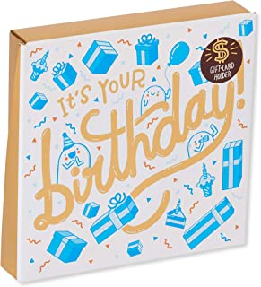 American Greetings Pop Up Gift Card Holder Birthday Card with Music (It's Your Birthday)