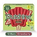 OUTSHINE Strawberry Frozen Fruit Bars, 12 Ct. Box | Gluten Free | Non GMO