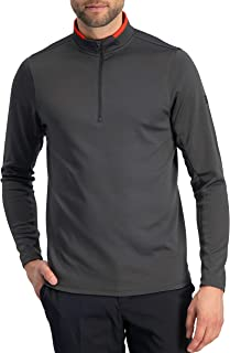 Golf Half Zip Pullover Men - Fleece Sweater Jacket - Mens Dry Fit Golf Shirts