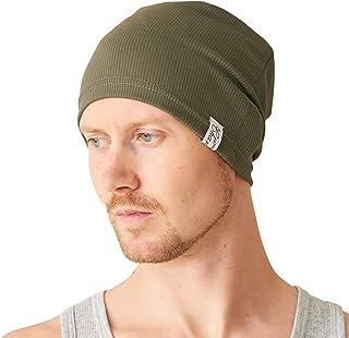 CHARM Sports Beanie Lightweight Mens - Gym Thin Sweat Wicking Comfort UV Cut Casualbox