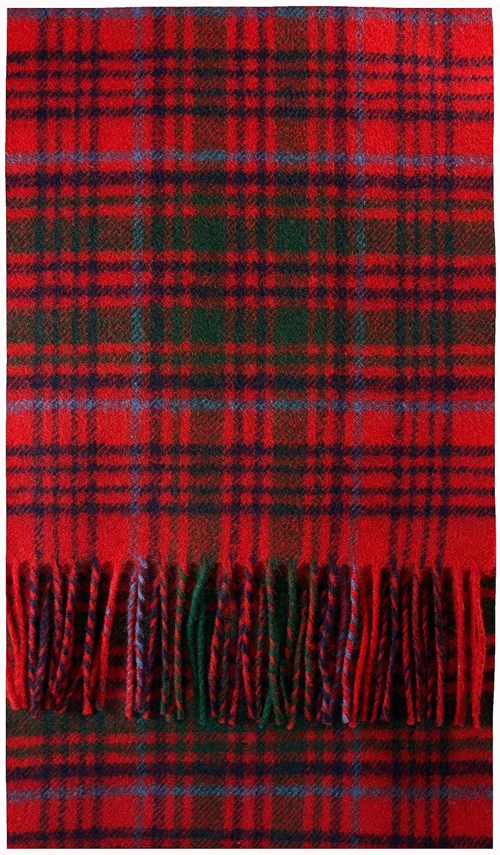Grant Clan Modern Tartan Luxury Brushwool Scarf