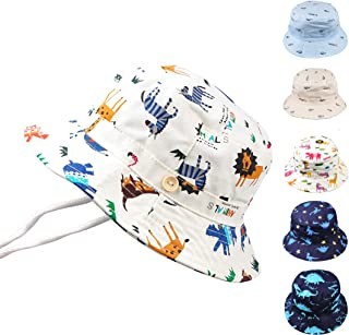 toddler bucket hat with chin strap
