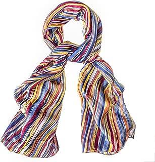 Best orange silk scarves Reviews