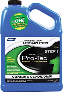 Camco 41448 Rubber Roof Protectant Gallon Rubber Roof Cleaner 1 Gallon