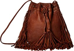Chickoa Drawstring Crossbody w/ Fringe