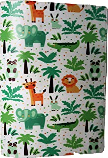 TRS Passport Cover for Kids Jungle Animals