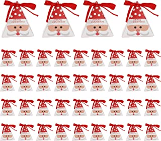 Xgood 40 Pieces Christmas Candy Boxes Christmas Paper Boxes Decorative Candy Chocolate Boxes Party Gift Boxes for Home Off...