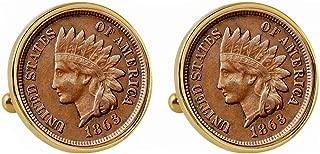 1989 coin cufflinks
