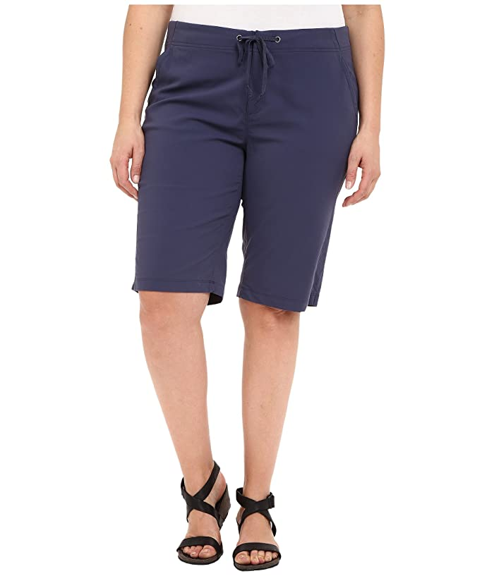 Columbia Plus Size Anytime Outdoortm Long Short (Nocturnal) Women