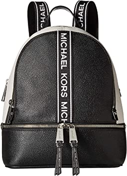 387f960fbcb7 Black Optic White. 48. MICHAEL Michael Kors. Rhea Zip Medium Backpack.   246.00MSRP   328.00