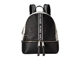 4853882149a9 MICHAEL Michael Kors Rhea Zip Medium Backpack at Zappos.com