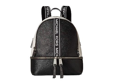 9d0f5f777c75 MICHAEL Michael Kors Rhea Zip Medium Backpack at Zappos.com
