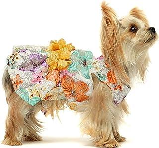 Dog Dress ~Eye Glasses ~Optical ~Puppy Dress ~Pet Apparel ~Cute Dog Clothes ~Beach Dog ~Dog Outfit ~Pretty Dog Dress ~Chic Summer Dog Dress