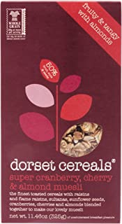 Dorset Cereal Super Muesli, Cranberry Cherry Almond, 11.46-Ounce